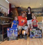 Une famille complètement Lego