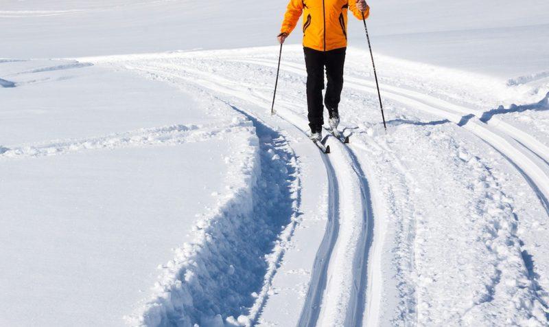 Le ski de fond sera encore permis sur la montagne pour 2018. Photo: Archives