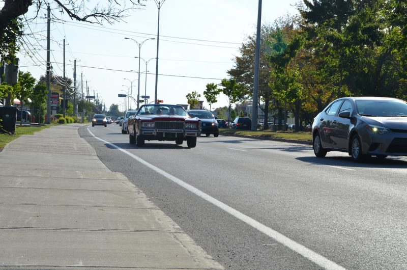 Toutes catégories d'âge confondues, la région compte 74 véhicules par 100 habitants. Au Québec, on compte 67 véhicules par 100 habitants. Photo: Karine Guillet
