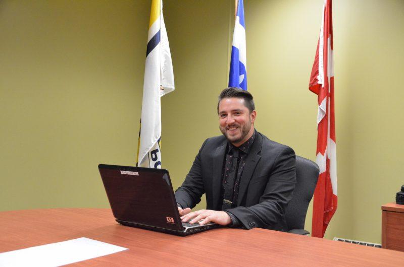 Le policier Martin Houle est spécialisé en leurre informatique. Photo: Karine Guillet