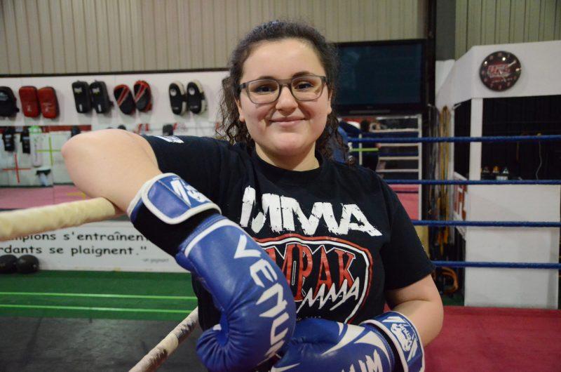 Marie-Soleil Garzon: portrait d'une boxeuse déterminée