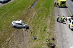 Tragique accident sur la 20