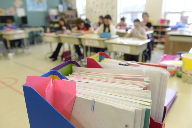 La violence dans les milieux scolaires nuit au climat d'école et à la réussite des élèves, croit le président du syndicat, Éric Gingras. Photo: Archives