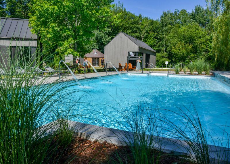La piscine. photo François Larivière