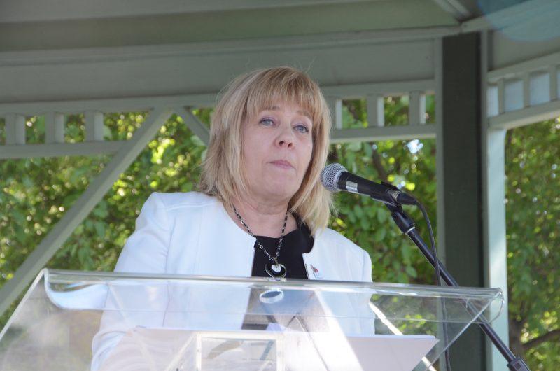 Hélène Roberge, présidente de la Commission scolaire des Patriotes. Photo: Karine Guillet