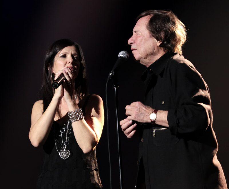 Lynn Jodoin a collaboré avec Jean-Pierre Ferland. Photo: Gracieuseté