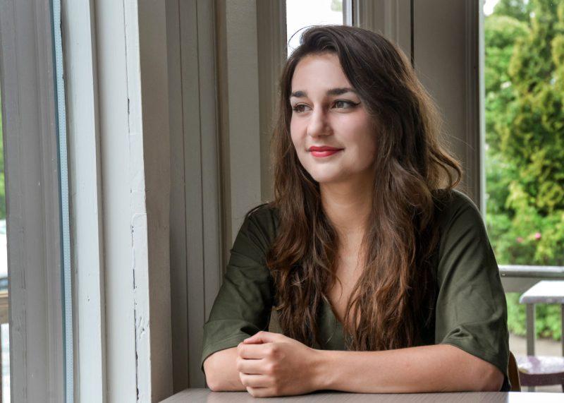 Élisabeth Pion est encore jeune, mais évolue rapidement comme musicienne.  Photo: François Larivière
