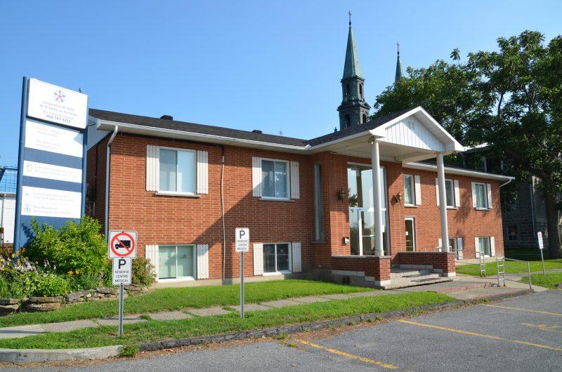 La Coopérative de santé de Saint-Denis-sur-Richelieu est dissoute et le bâtiment sera vendu  à la docteure Julie Lafrenaye. Photo: Vincent Guilbault