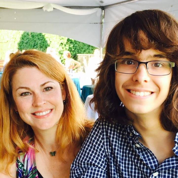 Julie La Rochelle et son fils, Charles-Antoine. Photo: Gracieuseté