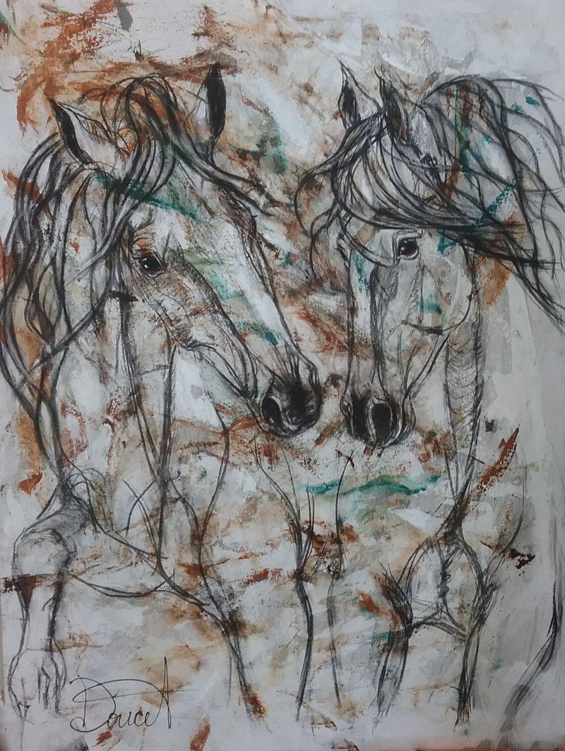 La plus récente œuvre de l'artiste, Mia Bella. Photo: Gracieuseté