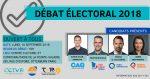 Débat des candidats dans Borduas