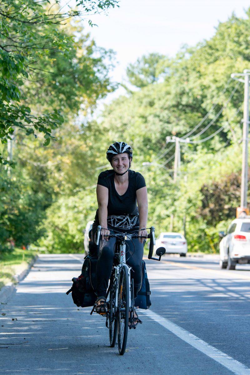 Annie Desharnais a adopté le mode de vie zéro déchet. Photo:Martin Lacasse