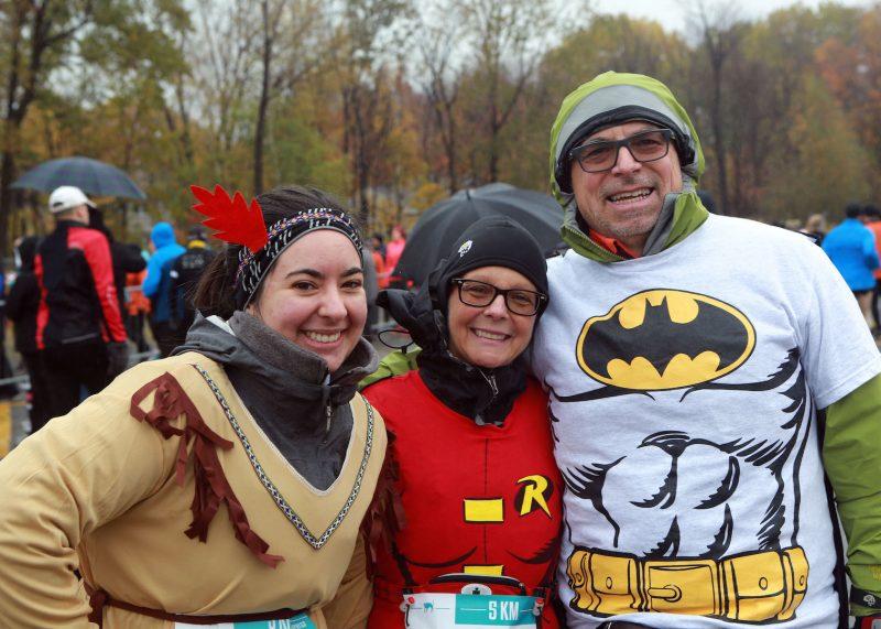 Le duo dynamique de Batman et Robin a été de la partie. Photo: Robert Gosselin