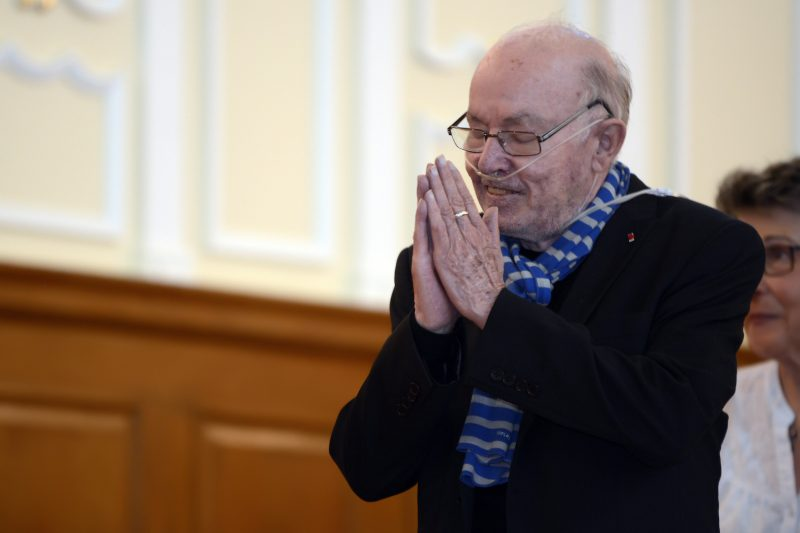 Bernard Landry en juin dernier.  Photo: Yann Canno - Archives