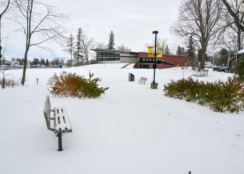 Le parc de la Pointe-Valaine. Photo: François Larivière