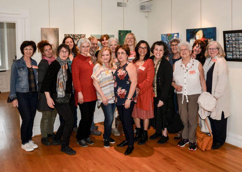 Quelques-uns des 61 participants de la Route des Arts et Saveurs du Richelieu, qui ouvriront volontiers leurs portes en juin et en septembre pour faire découvrir leur art. Photo François Larivière | L'Œil Régional ©