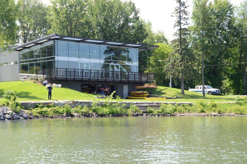 Le Centre culturel et communautaire de la Pointe-Valaine. Photothèque | L'Œil Régional ©