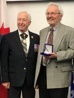 Michel Marchessault reçoit la Médaille du Lieutenant-gouverneur