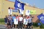 Les 35 employés de Galvano en grève