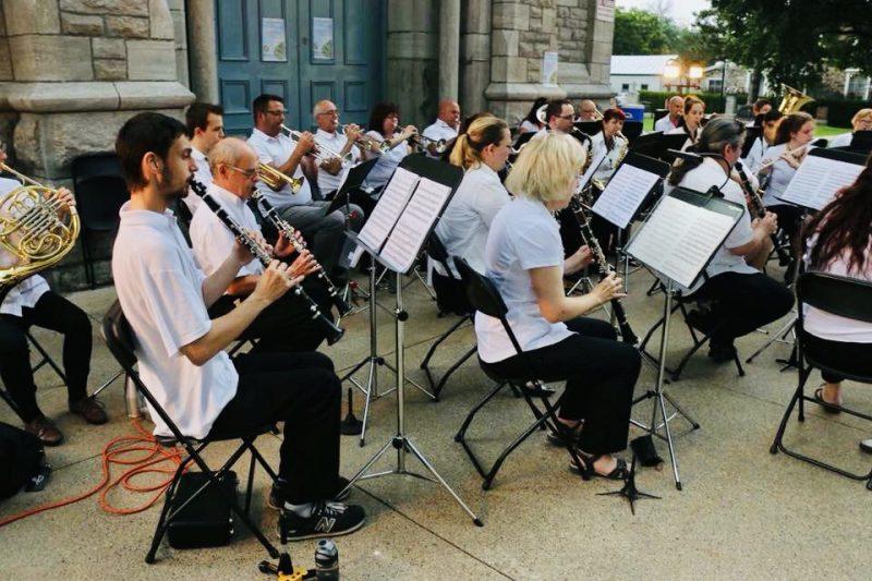 L'Orchestre d'Harmonie Leonardo Da Vinci.