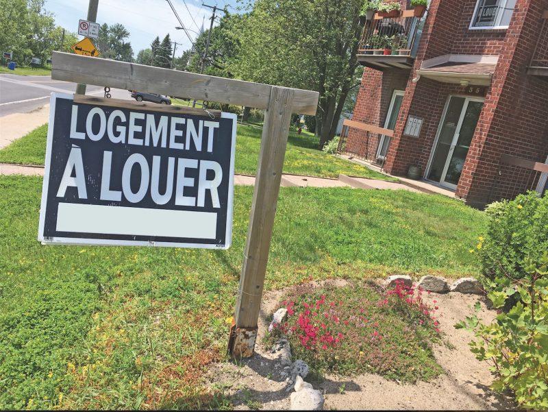 La crise du logement s'accentue dans la région. Photo Vincent Guilbault | L'Œil Régional ©