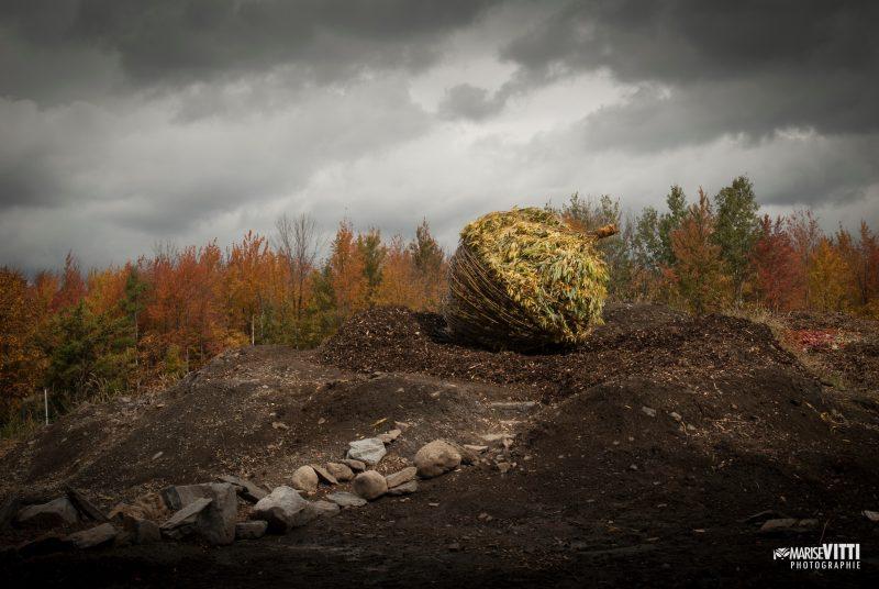 Terre d'accueil, de Melsa Montagne et Nicolas Des Ormeaux, présentée lors de la 12e édition. Photo Marise Vitti