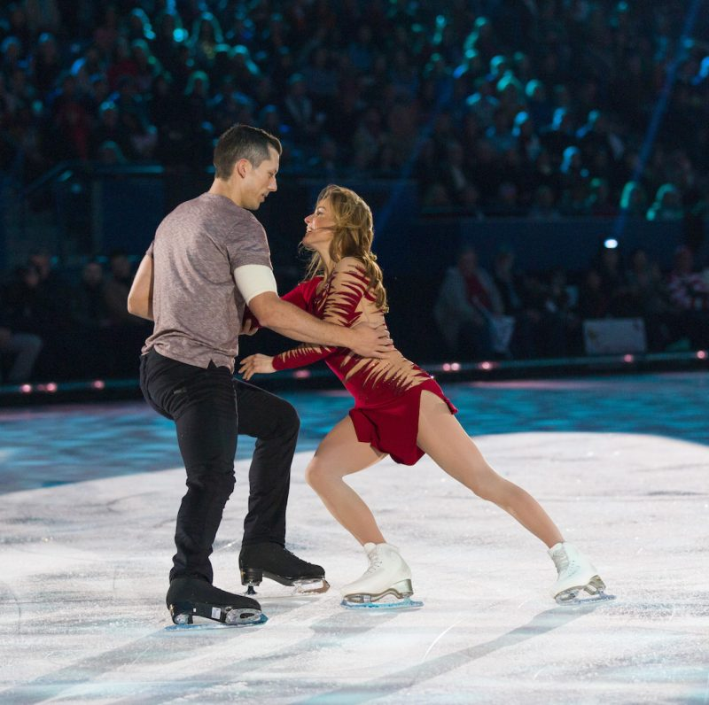 "TOP 3 PAIRS PERFORMANCE Top 3 final pairs skate to ""Dancing With A Stranger"" on Season 5 of CBC's Battle Of The Blades (Episode 7 / October 31, 2019)  Ekaterina Gordeeva + Bruno Gervais Natalie Spooner + Andrew Poje Kaitlyn Weaver + Sheldon Kennedy  BATTLE OF THE BLADES combines athletes from two of Canada's favourite sports — figure skating and hockey — as they pair up in a live, high-stakes figure skating competition for the charity of their choice. Hockey Night in Canada's Ron MacLean will reprise his role as host, with four-time Canadian and four-time World champion figure skater Kurt Browning returning as head judge. Beloved Canadian Olympic Games ice dance champions, Tessa Virtue and Scott Moir, will be rink-side with him as guest judges for select episodes. First launched in 2009, BATTLE OF THE BLADES was broadcast on CBC from 2009–2013 (4 seasons, 57 episodes) and remains the highest-rated original English-language Canadian format of all time.*   A CBC original series, BATTLE OF THE BLADES is produced by Insight Productions. The series is executive produced by Insight's John Brunton, Lindsay Cox, Erin Brock, and Mark Lysakowski and is co-created and executive produced by Olympian and World & Canadian Figure Skating Hall of Famer Sandra Bezic. For CBC, Sally Catto is General Manager, Programming; Jennifer Dettman is Executive Director, Unscripted Content; and Susan Taylor is Executive in Charge of Production."