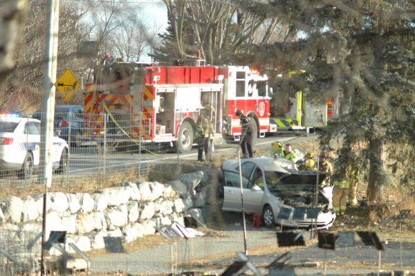 Une personne endormie au volant a causé un accident
