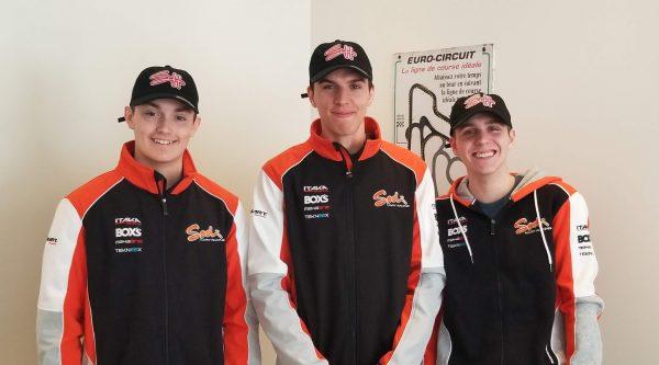 SH Karting dévoile trois pilotes et annonce un programme de sélection