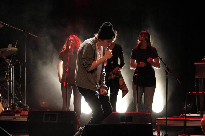 Maxime Lapointe sur scène. Photo gracieuseté