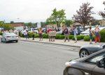 Des manifestants s'opposent au projet de loi61
