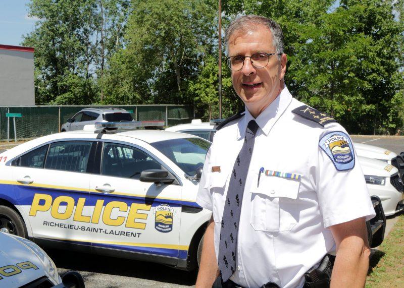 Marco Carrier, le nouveau directeur de la Régie de police Photo Robert Gosselin | L'Œil Régional ©