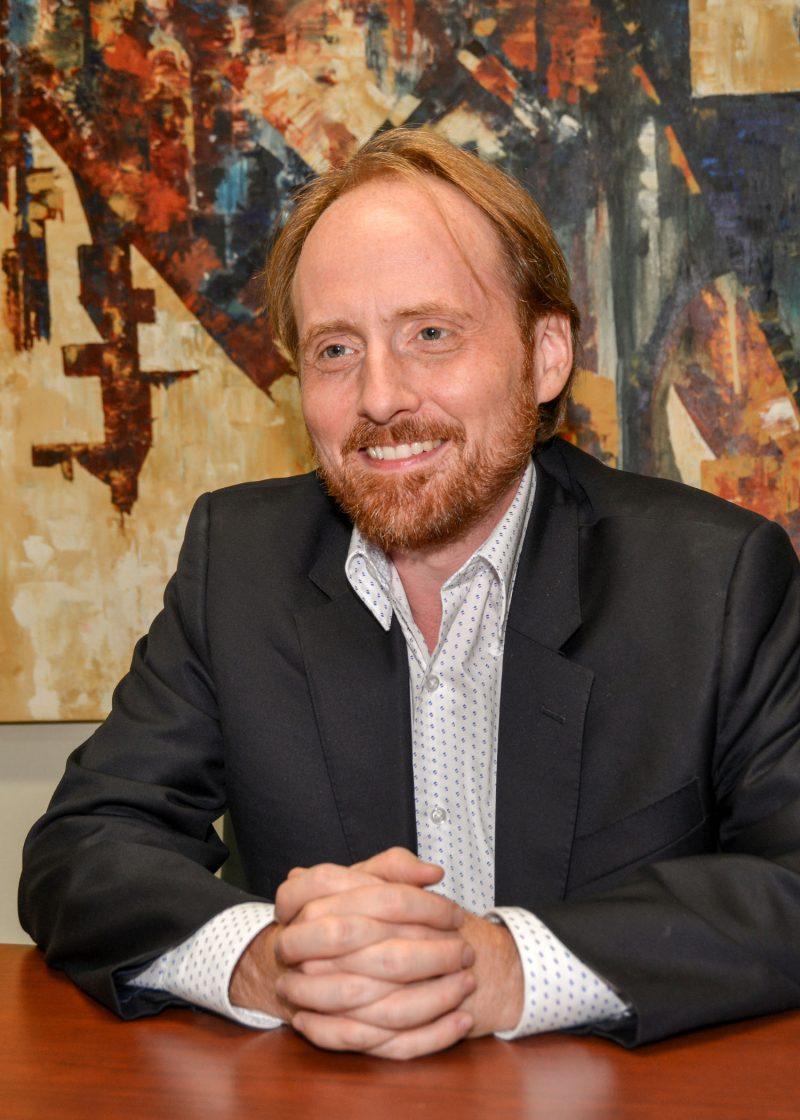 Le directeur Marc-Antoine d'Aragon. Photo François Larivière | L'Œil Régional ©