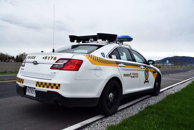 Les policiers ont intercepté le conducteur qui roulait à 195 km/h.
