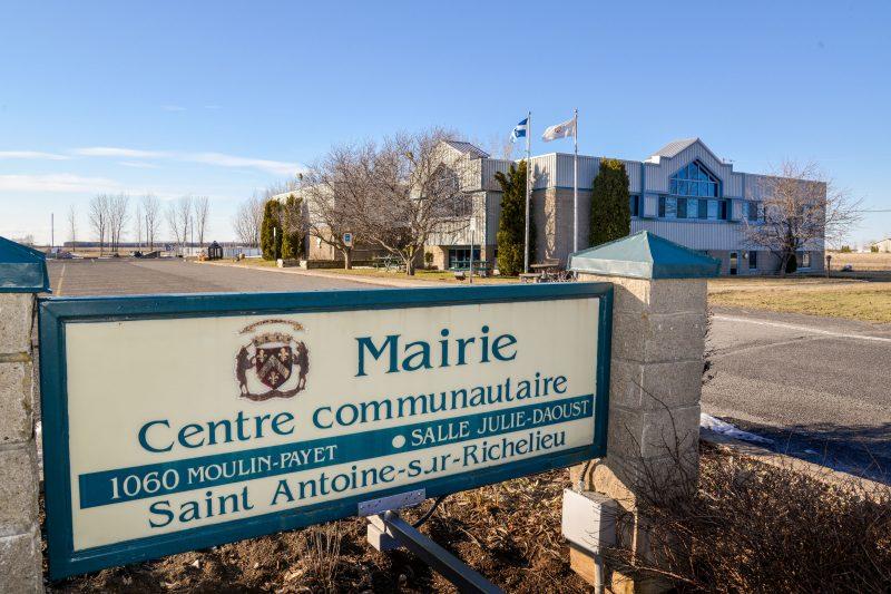 La Municipalité prêtait un local au médecin pour qu'il puisse y rencontrer ses patients à Saint-Antoine-sur-Richelieu. Photothèque | L'Œil Régional ©