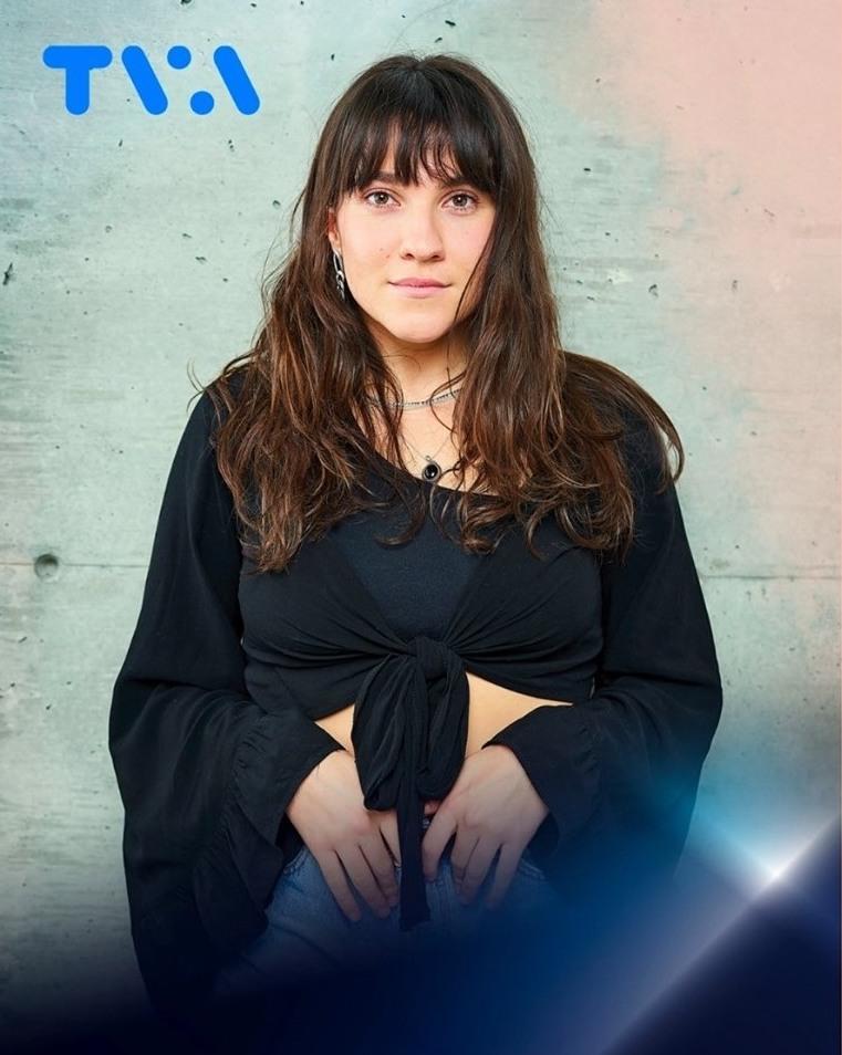 Lunou Zucchini. Photo Star Académie TVA