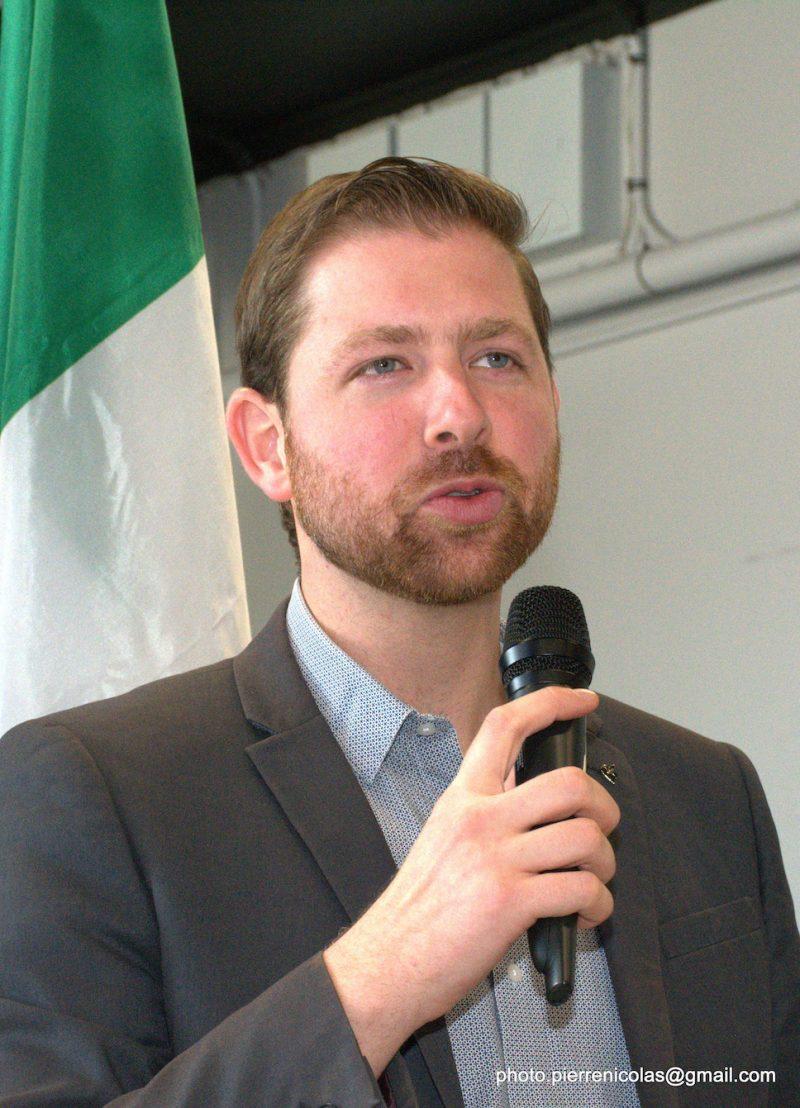 Xavier Barsalou-Duval, député de Pierre-Boucher–Les Patriotes–Verchères. Photo gracieuseté