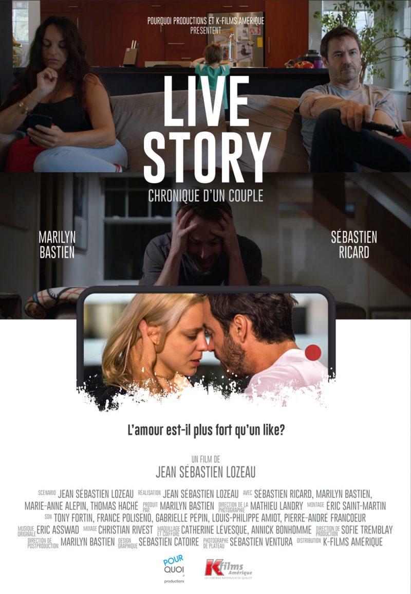 L'Affiche du film Live Story.