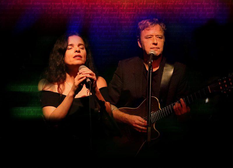 Le duo Richard Bull et Patrizia Ames offrira un spectacle en hommage aux chansons de Leonard Cohen le 8 avril. Photo gracieuseté