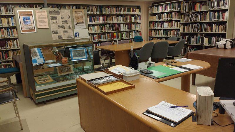 La Société d'histoire n'a plus d'espace dans son local pour acquérir de nouveaux documents. Photo gracieuseté