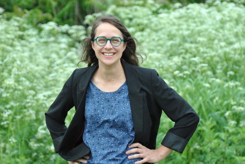 Mélanie Villeneuve, candidate à la mairie. Photos gracieuseté