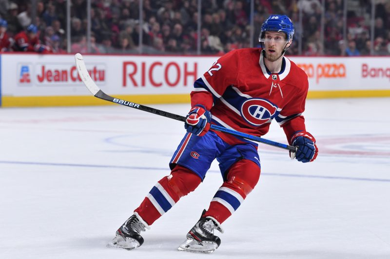 MONTREAL, QC - JANUARY 2: of the Montreal Canadiens of the Tampa Bay Lightning in the NHL game at the Bell Centre on January 2, 2020 in Montreal, Quebec, Canada. (Photo by Francois Lacasse/NHLI via Getty Images) *** Local Caption ***