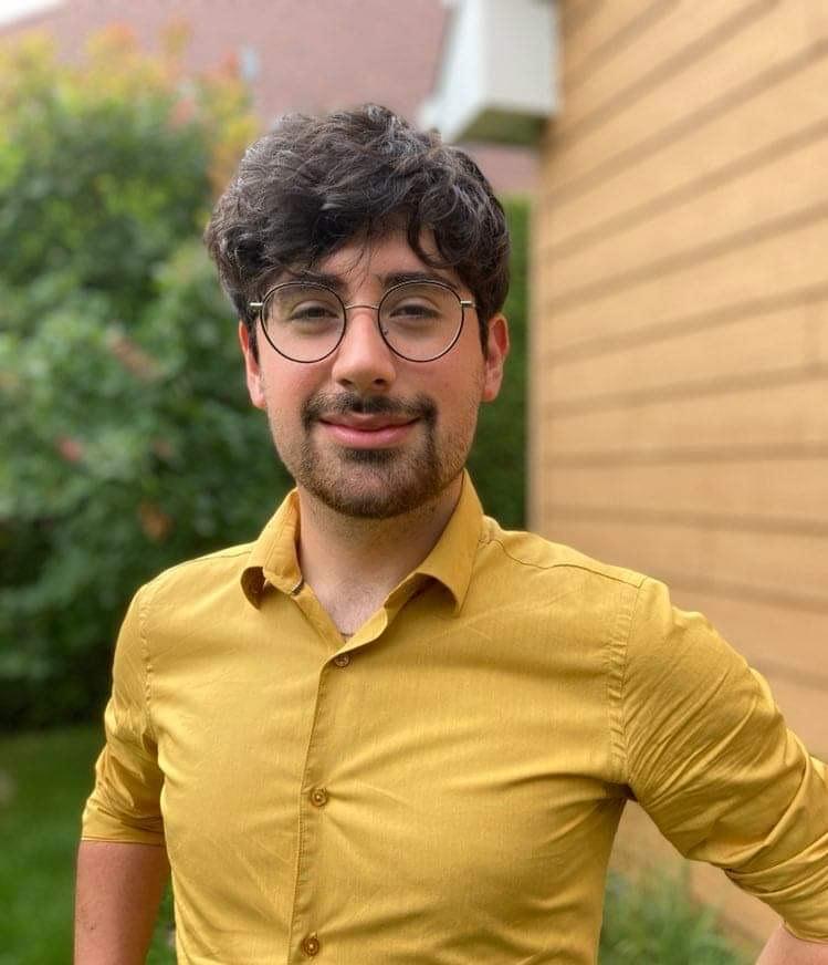 Fabrice Gélinas Larrain se lance en politique active dans Belœil–Chambly sous les couleurs du Parti vert. Photo gracieuseté