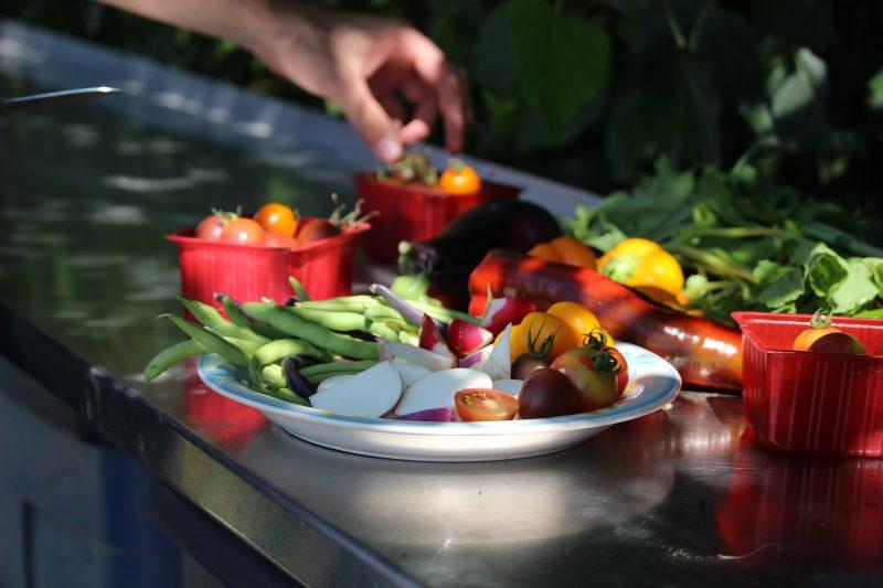 La Récolte - Marché agroalimentaire est le fruit d'une concertation entre la Municipalité régionale de comté, la Corporation de développement communautaire et la Table de solidarité alimentaire de la Vallée. Photo gracieuseté