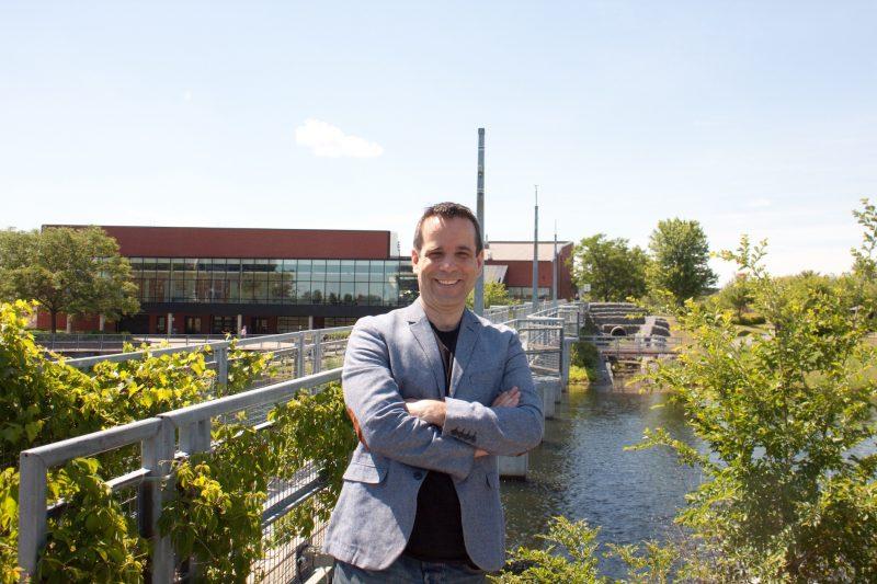Martin Leprohon, candidat pour le Nouveau Parti démocratique. Photo gracieuseté