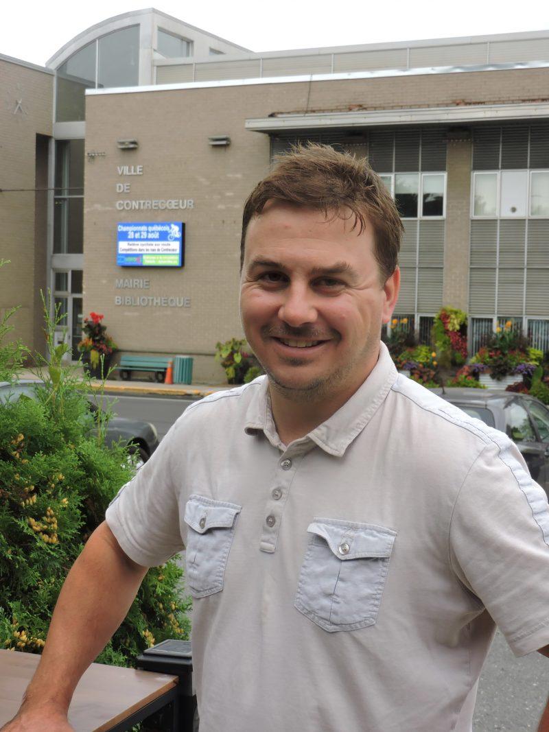 Jérôme Painchaud, candidat pour le Parti conservateur. Photo gracieuseté