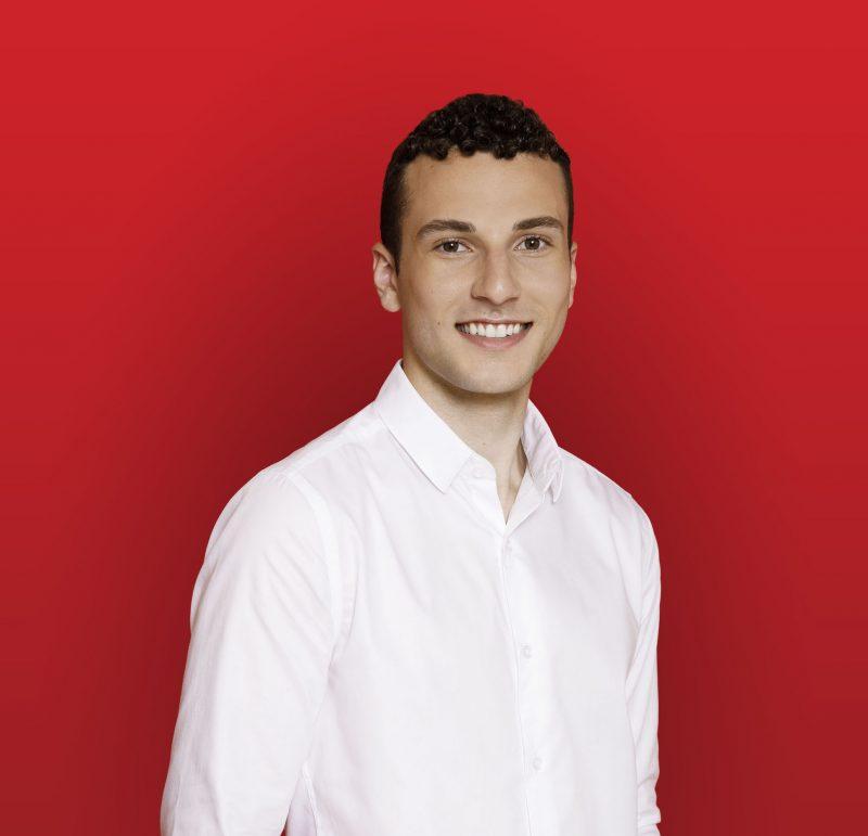 Louis-Gabriel Girard, candidat pour le Parti libéral. Photo gracieuseté